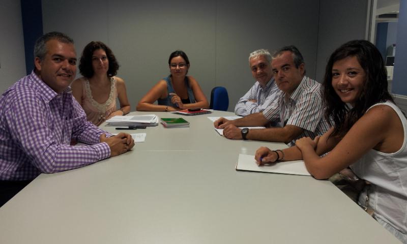 Reunión con representantes del Servicio Canario de Empleo