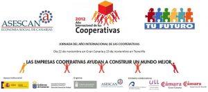Jornada del Año Internacional de las Cooperativas a iniciativa del Servicio Canario de Empleo, conjuntamente con ASESCAN