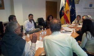 COMUNICADO DE PRENSA: Reunion de Consejera de Empleo y Directora de Trabajo